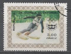 Equatorial Guinea 1976. Michel #822 (U) Slalom - Guinée Equatoriale