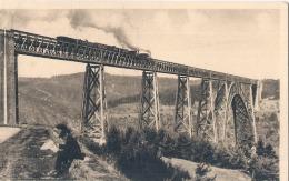 -15- Viaduc De Garabit  Passage D'un Train (légende Oubliée Par Scan)   Neuve TTBE - Other Municipalities