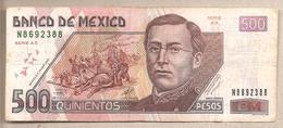 Messico - Banconota Circolata Da 500 Pesos - 2002 - Mexico