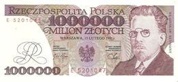 Poland - Pick 157 - 1.000.000 (1000000) Zlotych 1991 - Unc - Polonia