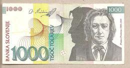 Slovenia - Banconota Circolata Da 1000 Talleri - 1993 - Slovenia