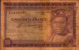 MALI 50 FRANCS Du 22 Septembre 1960 Pick 6 - Mali