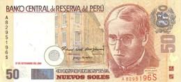 * PERU 50 NUEVOS SOLES 2001 P-177 UNC [PE177] - Peru