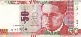 * PERU 50 NUEVOS SOLES 2009 P-184 UNC [PE184] - Pérou
