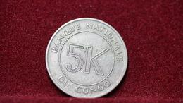 Congo Dem Republic 5 Makuta 1967 Km#9 (inv536) - Congo (Rép. Démocratique, 1964-70)