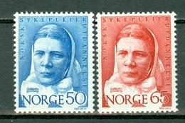 Norge 1968  Yv. 530/531**, Fa 606/607**,  Mi 574/575**  MNH - Norvège