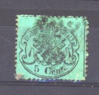 06126  -   Eglise  :  Mi  21 A   (o)  Bleu-vert - Papal States