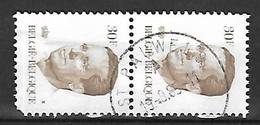 Ocb Nr 2126 Boudewijn Baudouin Velghe Centrale Stempel St Pauwels - 1981-1990 Velghe