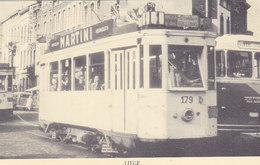 Liège - Tram Tramway Bus Autobus 179 (animée) - Liege