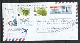 Cuba. 2000_Certificado Dirigido A España. - Storia Postale