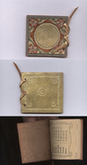 SPLENDIDO CALENDARIETTO LIBERTY DEL 1918 CON COPERTINA DECORATA IN PELLE - Calendari