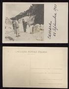 CARRARA 1923 - FOTOCARTOLINA CON TURISTI - UNICA!!! - Carrara