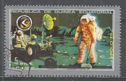 Equatorial Guinea 1972, Scott #7203 Apollo 15, Collection Of Lunar Rocks (U) (U) - Guinée Equatoriale