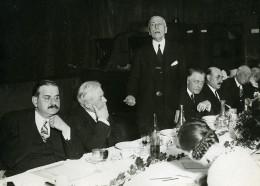 Etampes Politique Banquet Du Parti Radical Socialiste Ancienne Photo Meurisse 1930 - Famous People