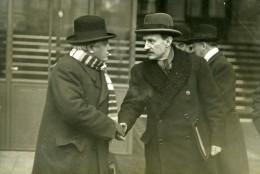 Paris Politique Ministres Camille Chautemps Et Paul Boncour Ancienne Photo Meurisse 1930