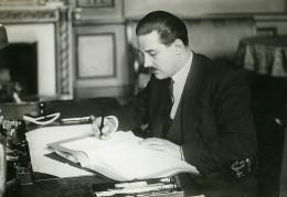 Paris Politicien Mr Guy La Chambre Ministere De La Guerre Ancienne Photo Meurisse 1933
