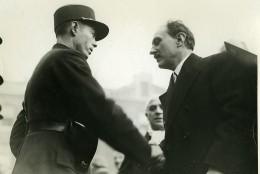 Paris Prefecture De Police Ministre Camille Chautemps Ancienne Photo Meurisse 1930 - Berühmtheiten