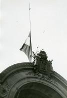 Paris Assassinat De Mr Paul Doumer Drapeau En Berne Ancienne Photo Meurisse 1932