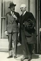 Paris Ministere De La Guerre Politicien Diplomate US Norman Davis Ancienne Photo Meurisse 1933