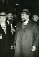 Paris Politicien M Guerin Quai D'Orsay Ancienne Photo Meurisse 1930