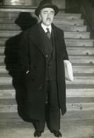 Paris Politicien M Abel Gardey Ministre Du Budget ? Ancienne Photo Meurisse 1933 - Famous People