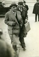 Paris Politicien Georges Scapini Avocat Et Depute Ancienne Photo Meurisse 1930 - Berühmtheiten