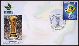 WORLD CUP BRASIL-2014-SOCCER-BOLIVIA-FDC- - Non Classés