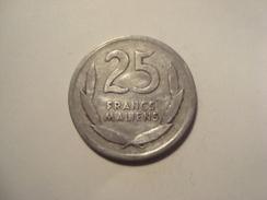 MONNAIE MALI 25 FRANCS 1961 - Mali (1962-1984)