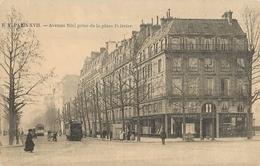 PARIS XVII AVENUE NIEL PRISE DE LA PLACE PEIREIRE - District 17