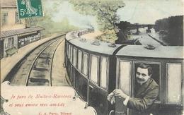 NUITS SUR RAVIERES AMITIES CEHMIN DE FER TRAIN LOCOMOTIVE 89 - France