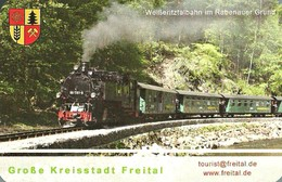 RAIL * RAILROAD * RAILWAY * TRAIN * STEAM LOCOMOTIVE * GROSSE KREISSTADT FREITAL * CALENDAR * GKF 2011 * Germany - Calendriers