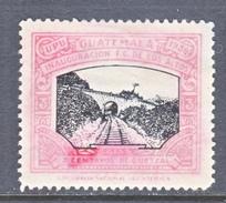 GUATEMALA  253   *   TRAIN  BRIDGE - Guatemala