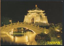 °°° 315 - TAIWAN - CHIANG KAI-SHEK MEMORIAL HALL - 1994 With Stamps °°° - Taiwan