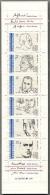France,  Scott 2017 # B633a,  Issued 1991,  Booklet Of 6,  MNH,  Cat $ 7.50,  Postal - Ongebruikt
