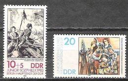 LOTE 1088  ///  ALEMANIA FEDERAL (DDR) AÑO 1983 -  YVERT Nº: 2455/2456 ** MNH - [6] République Démocratique