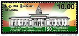 Sri Lanka - 2015 - Colombo Municipal House, 150th Anniversary - Mint Stamp - Sri Lanka (Ceylon) (1948-...)