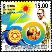 Sri Lanka - 2016 - 60 Years Of People's Victory - Mint Stamp - Sri Lanka (Ceylon) (1948-...)