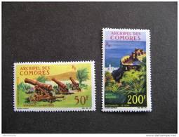 B). Archipel Des Comores: TB Paire PA N° 18 Et N°19, Neufs X.