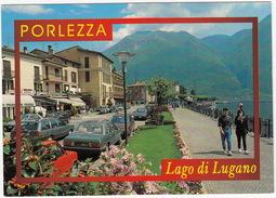 Porlezza: TALBOT TAGORA 2.6 (Corps-Diplomatique), FIAT 126, VW PASSAT VARIANT B2, PEUGEOT 205 GTI, APE - Lago Di Lugano - Turismo