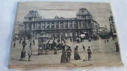 531199,Leporello Souvenir De Bruxelles Brüssel Gare Du Nord Bahnhof Litfasssäule - Ansichtskarten