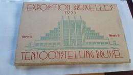 531198,Leporello Exposition Bruxelles 1935 Brüssel Tentoonstelling Complete Postcard - Ansichtskarten