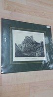 Seltene Original Lithographie Um 1860 Burg Klam Saxen Grein Perg Clam 42 X 40 Cm Stic - Ansichtskarten