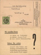 ANK 3C K.K. Feldpost Postkarte Makulatur Privat Ganzsache Zudruck Sammler Woche Münch - Weltkrieg 1914-18
