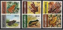 MOZAMBIQUE: Grenouilles (Yvert:1002/07) Neuf Sans Charniere ** MNH - Grenouilles