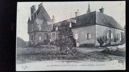 CPA D18 Germigny L'Exempt, Chateau Gaillard - France