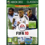 Jeu XBOX 360 FIFA 10 Classics - X-Box
