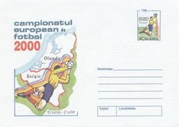 "ROUMANIE 2000 - Campionatul European Fotbal 2000  ""EURO FOOT 2000"" En Belgique Et Pays-Bas - Postal Stationery"