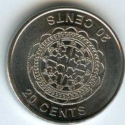 Salomon Solomon 20 Cents 2012 UNC KM 236 - Salomon