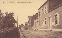Lens St Remy - Maison Communale Et Les Ecoles (animée, Edit. Thill Nels) - Hannut