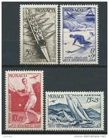 Monaco - 1948 -  Jeux Olympiques De Londres - PA 32 à 35   - Neufs **   - Air Mail - MNH - Airmail